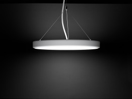 Pozzo Scale is the latest evolution of the Pozzo lighting concept, using natural light as the reference point of its design. Despite its slim form, measuring only 51,5 cm in height, Pozzo Scale pendant has a focused indirect light component dedicating up to 40...
