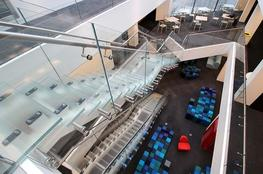 Glass staircases offer a stylish solution for contemporary properties. Whether you're looking to add a focal point to your home or a stand out feature to your business property, we can fabricate a solution to suit.  Canal Architectural manufacture, fabricate...