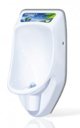 The compactinfo is identical to the compactplus except that the advertising display is illuminated and automatically lights up when the urinal is used. This is a very powerful advertising medium as it immediately attracts and holds your attention.Save Money ...