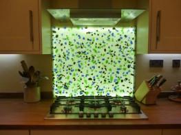 Recycled Glass Splashbacks image