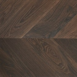 Savoy - 900307 - Engineered Smoked Oak Chevron Flooring image