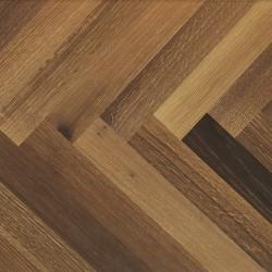 Harlesden - 900301 - Engineered Smoked Oak Parquet Flooring image