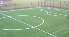 Conqueror 50 is a third generation (3G) outdoor sports surface filled with sand and rubber. 3G surfaces look like grass and offers similar playing characteristics. The rubber infill allows studded boots to be used for extra grip, in addition to providing extra...