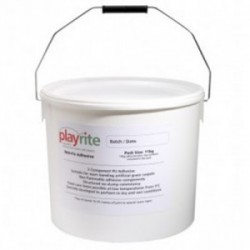 Playrite Wet-Fix multipurpose adhesive is a two component polyurethane based adhesive system primarily designed for bonding artificial sports surfaces to seam jointing tapes to produce a strong invisible joint along the carpets. This special water resistant ad...