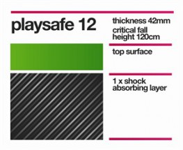 The perfect choice for use under low level climbing frames, Playsafe 12 offers a critical fall height up to 120cm. Providing safety for younger children where slides and swings are installed, Playsafe 12 system provides the necessary protection for foundation ...