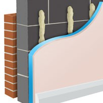 Styroliner - Insulated plasterboard for walls and ceilings. image