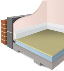 Styrofloor® is an insulated flooring panel, comprising p5 moisture resistant chipboard and Styrofoam, an extruded polystyrene. It provides a simple and easy to lay method of insulating floors in both new build and refurbishment projects. Styrofloor® can be u...