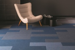 Broadrib Carpet Tile Plank image