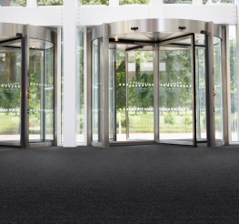 Hippo entrance carpet is used extensively in education and public sector buildings. Hippo has a rubber waffle backing for use in small areas/footwells....