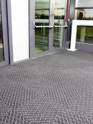 Sticks & Stones has a striking alternating diagonal motif and has been designed to offer a creative entrance floor design that is extremely tough, durable and easy to maintain.  Key features include: -  •British made •Specially designed for entrance a...