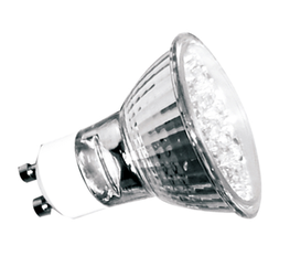Save energy, up to 90 % compared with halogen lamps. Long life of 30,000 hr, 20 x longer than halogen lamps. Instant start, suitable for frequent switching. Negligible UV output. Popular GU10 base & standard shape for direct replacement of halogen GU10 lamps....