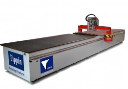 Pippin's innovative range of CNC machines are designed specifically for the pre-insulated ductwork industry. Featuring an angle cutting head, the Sabrecut automatically pre-cuts sheets ready to easily fold into and form ductwork components. - See more at: ht...