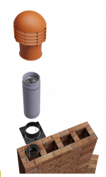 Ventiive S PVHR system is designed to fit into existing chimney stacks, replacing the chimney pot with a cowl and cassette that features an innovative, patented and incredibly efficient heat exchanger. Ventive uses a combination of air buoyancy and wind (activ...