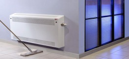 DeepClean Anti-Ligature Radiator Cover - Floor Mounted Square Top image