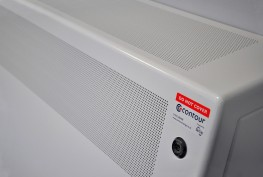 DeepClean Anti-Ligature Radiator Guard - Wall Mounted Square Top - Contour Heating Products Ltd