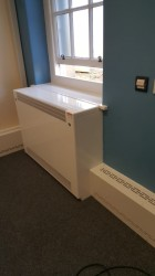 DeepClean Radiator Cover - Floor Mounted Square Top - Contour Heating Products Ltd