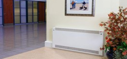 DeepClean Radiator Cover - Floor Mounted Square Top image