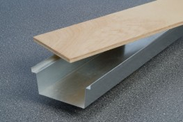 CDT Flush Floor Ducting System For Screeded Floors - Contour Heating Products Ltd