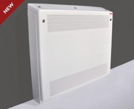 DeepClean Anti-ligature Radiator - Wall Mounted Gradient Top - Contour Heating Products Ltd