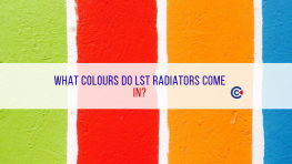 What Colours Do LST Radiators Come In?