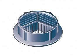 Hd 7000 - Circular Soffit Ventilator image