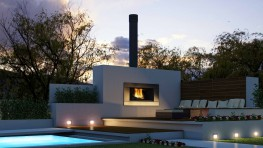 Escea's EW5000 adds a dramatic focal point to any outdoor entertaining area, while its large cooking surface allows you to enjoy BBQ cooking the way it was meant to be done.