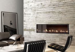 The Escea DX range of 1000 wide and 1500 wide gas fireplaces is the most efficient and has more flexible installation options than any other European gas fireplace. 