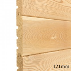 Siberian Larch Tongue & Groove Cladding - 21 x 121mm image