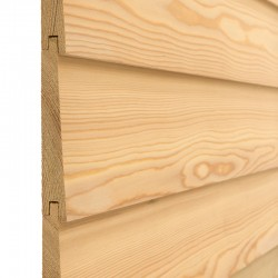 Siberian Larch Bevel Cladding - 22 x 146mm image