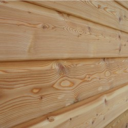 Siberian Larch Shiplap Cladding - 21 x 146mm image
