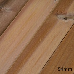 Prestige Vertical Grain Western Red Cedar Tongue & Groove Cladding - 20 x 94mm image