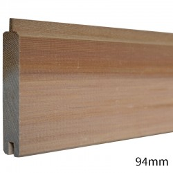 Prestige Vertical Grain Western Red Cedar Tongue & Groove Cladding - 20 x 94mm - Silva Timber