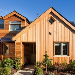 Western Red Cedar Microline Channel Cladding - 20 x 144mm image