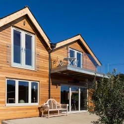 Western Red Cedar Microline Channel Cladding - 20 x 144mm - Silva Timber