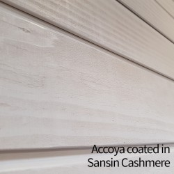 Accoya Chamfered Channel cladding - 15 x 145mm - Silva Timber