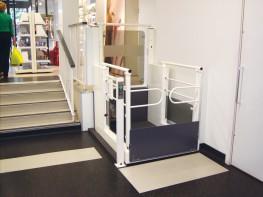 2 Person Open Platform Lift - The Lowriser - Stannah