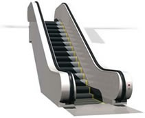 The A2T Public Transport Escalator - Stannah image