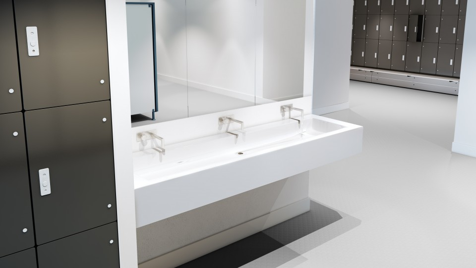 Trough Vanity Unit By Thrislington Cubicles