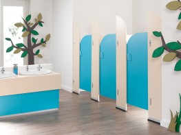 Do you need toilet cubicles for your nursery or pre-school?