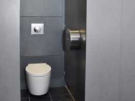 WC Panel System - Protective washroom wall panels - Cubicle Centre