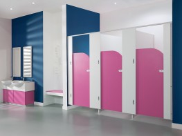 Pendle Junior - Fast Delivery School Cubicles - Cubicle Centre