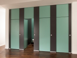 The ultimate in washroom privacy.