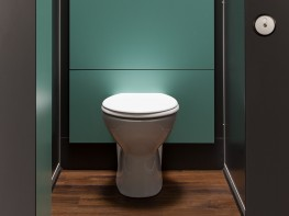 Privacy - Full Height Toilet Cubicles - Cubicle Centre