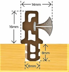 Brush Parting Bead image