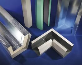 Folded steel or aluminium gutters to bespoke profiles....