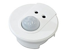 Compact ceiling-mount unit. Energy saving function. Presence detection (PIR). Constant-light sensor. Infrared receiver. Switch-control input....