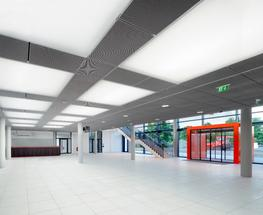 Using the modular Lightframe system, LED adds an extra level of evenly distributed low energy integrated LED lighting throughout.  Fabric has the ability to disperse and diffuse light. A fabric surface with a single light source behind it can appear uniformly ...