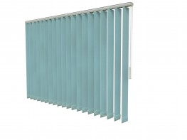 The decor 150 vertical blind is designed specifically for use in demanding contract environments. A highly versatile method of shading, the decor 150 is suitable for large or unusually shaped windows. The geared tilt mechanism enables you to smoothly adjust the louvres through 180 degrees to get the perfect balance of daylight and privacy.