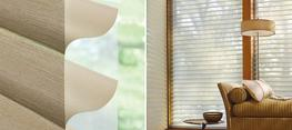 The Alustra® Collection of Silhouette® shadings are beautifully crafted from an exclusive selection of textured front sheers, metallic accented vanes and hardware finishes offering stylish innovations to elevate your home....
