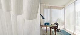 Endless light-control possibilities  For wide windows and sliding doors, our Luminette® Privacy Sheers come in an array of sheer and drapery-like fabrics for unlimited light-control and privacy options....